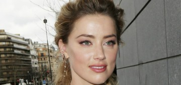 Amber Heard seemed unbothered by Johnny Depp's continuing abusive pettiness