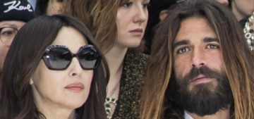 Monica Bellucci, 54, debuted her 36-year-old lover at the Chanel runway show