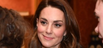 The Cambridges & Sussexes attended a palace reception for the Prince of Wales