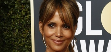 Halle Berry shows off an enormous back tattoo: is it real or just semi-permanent?