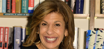 Hoda Kotb goes to bed around 7 and plays Candy Crush until she turns the lights out