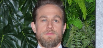 Charlie Hunnam on his diet: 'I eat a lot of chocolate & a lot of ice cream, like every day'