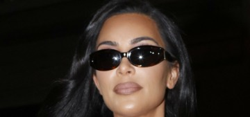Kim Kardashian stepped out in Paris in head-to-toe animal-print Alaïa: cheap or fine?