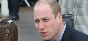Prince William is hopeless when it comes to putting Charlotte's hair in a ponytail