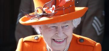 Queen Elizabeth made her first Instagram post, five years after her first tweet