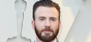 Chris Evans hung out with a white supremacist in Washington last week