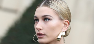 Hailey Baldwin uses a moisturizer formulated with her blood, completely normal