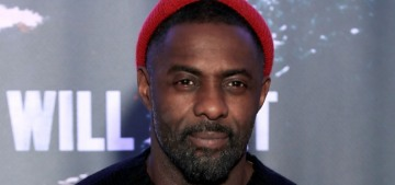 Idris Elba talks about whether he would work with an accused predator