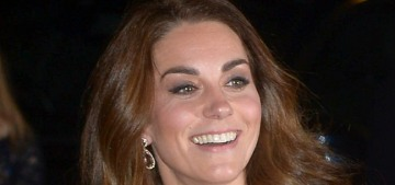 Duchess Kate recycled & revamped a McQueen gown for a London gala