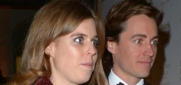 Princess Beatrice made her couple-debut with Edoardo Mapelli Mozzi last night
