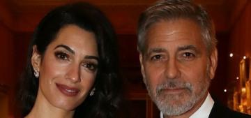 Amal Clooney wore 2007 Jean-Louis Scherrer to a Buckingham Palace dinner