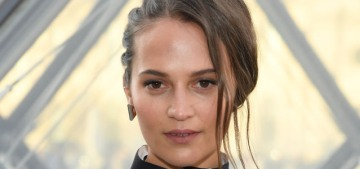 Alicia Vikander deleted Instagram after one month, she realized it 'wasn't good for me'