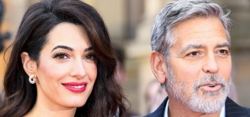 Amal Clooney in Stella McCartney for an Edinburgh event: stunning or unflattering?