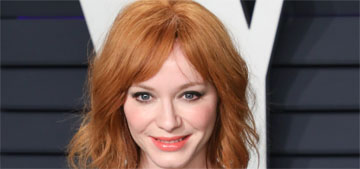 Christina Hendricks on dyeing her blonde hair red: 'There's a lot less redheads'