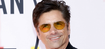 John Stamos declared his love for Nick Jonas with body art