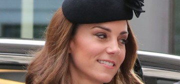 Duchess Kate wore Catherine Walker for her first public event with the Queen