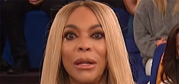 Wendy Williams says she lives in a sober house 'with a bunch of smelly boys'