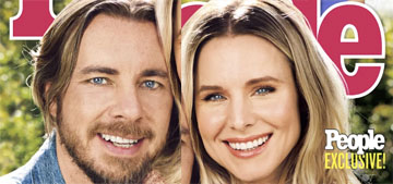 Kristen Bell and Dax Shepard cover People: 'We definitely had to work really hard'