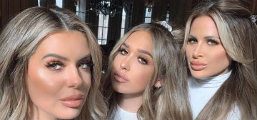 Brielle Biermann on her mom and sister: we got a 3 for 1 at the plastic surgeon