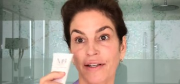Cindy Crawford shows her makeup routine to Vogue, admits her husband 'hates makeup'