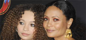 Nico Parker on being told she looks like her mom, Thandie Newton: 'I don't see it'