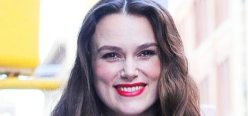 Keira Knightley: We don't give women enough credit for the 'marathon' of motherhood