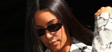 Kim Kardashian wears snakeskin in Paris: is this Taylor Swift commentary?!?