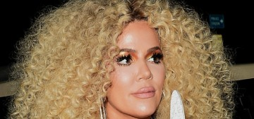 Khloe Kardashian rocked a spectacular wig at Diana Ross's birthday party