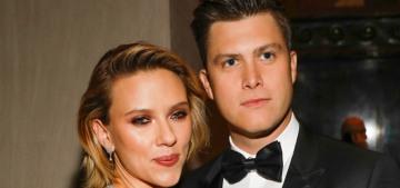 People: 'There is marriage talk' between Scarlett Johansson & Colin Jost