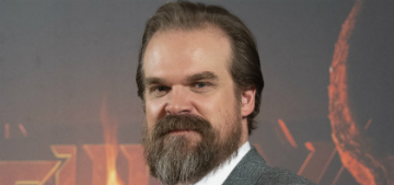 David Harbour obsesses over awkward social situations he's been in