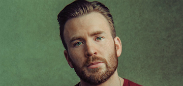 Chris Evans on Tom Brady: 'I really hope he's not a Trump supporter'