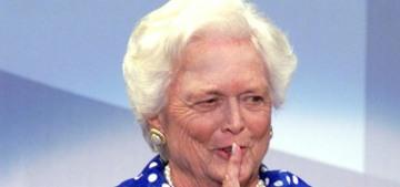 Barbara Bush no longer considered herself a Republican after Trump was elected