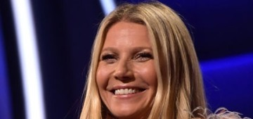 Gwyneth Paltrow wore an absurd feathered ensemble to the GLAAD Awards