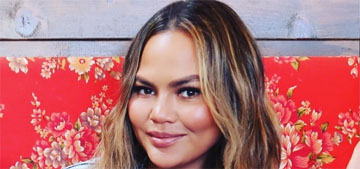 Chrissy Teigen: I'm 20 pounds heavier, but I'm happy and I love food