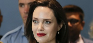 Angelina Jolie on the possibility of running for office: 'Never say never'