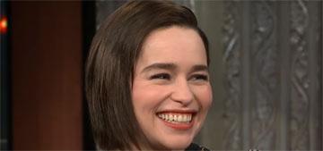 Emilia Clarke on her brain hemorrhage: I knew right away it meant brain damage