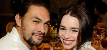 Jason Momoa on Emilia Clarke's health scare: 'we almost lost her, I love her to bits'