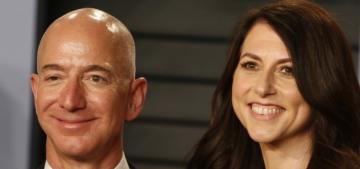 Jeff Bezos & Mackenzie Bezos finalized their divorce, she… gave up a lot?
