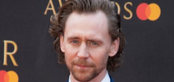 Tom Hiddleston attended the Olivier Awards solo, left with an attractive lady friend