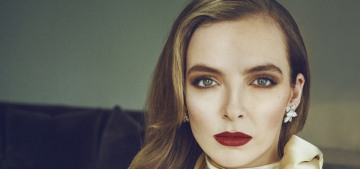 Jodie Comer gets her perfect pale skin by applying sunscreen 'every day, rain or snow'