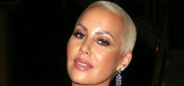 Amber Rose has hyperemesis gravidarum, just like Amy Schumer & Duchess Kate