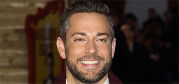 Zachary Levi on if he's single: I'm 'in this good healthy moment of being with me'