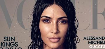 Kim Kardashian shows off her minimalist, bland AF home in a Vogue video
