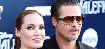 The Sun: Angelina Jolie 'wants to be back in a relationship' with Brad Pitt, ORLY