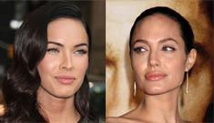 Angelina possibly slams Megan Fox; Fox thinks she's too good for James Bond