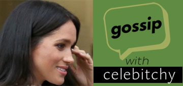 'Gossip with Celebitchy' Podcast #13: Meghan's birth plan controversy, Jude Law's speedo