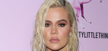 Khloe Kardashian reunited with Tristan Thompson for True's first b-day party