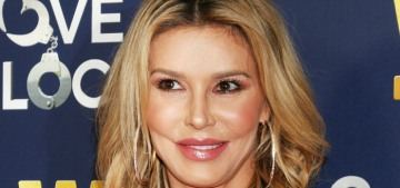 Brandi Glanville sobs on camera after some 'drunk' photos were published