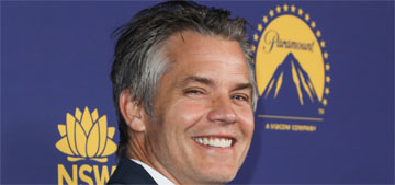 Timothy Olyphant's dog ate his edibles and the veterinarian had a brochure for that