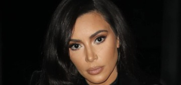 Kim Kardashian studies for the Baby Bar with flashcards & meticulous notes